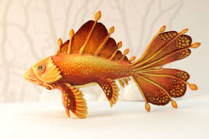 Golden fish by hontor
