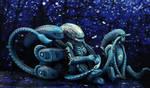 Moon Aliens by hontor