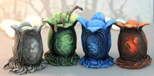 Painted xenomorph eggs (Alien Covenant inspired)