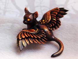 Little dark kitty by hontor