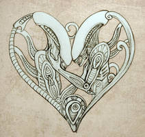 Xenomorph Valentine by hontor