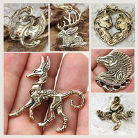 New pendants - 2018 by hontor