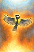 Fire Spirit by hontor