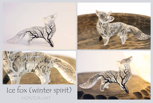 Ice fox spirit