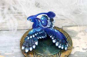 Paradise bird-dragon
