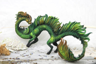 Forest cat dragon
