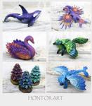 New miniatures