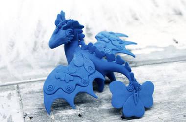 Clover dragon model
