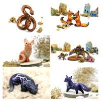 Animal miniatures August19