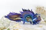 Tropical flower eastern dragon