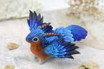 Eastern bluebird dragon