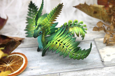 Fern dragon by hontor