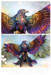Dark Rainbow Phoenix