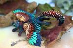 Winged autumn ferret