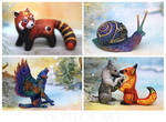 December animals by hontor
