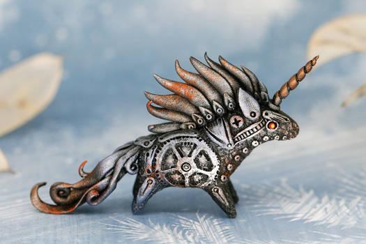 Little steampunk unicorn