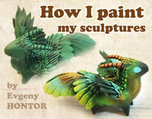 How I Paint My Sculptures