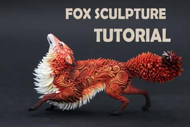 Tutorial Fox sculpture