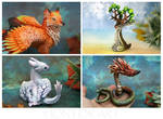 Animals and creatures - new