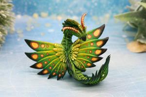 Green butterfly dragon