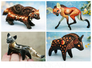 Set of animals - April 21