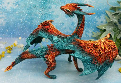 Ancient big dragon