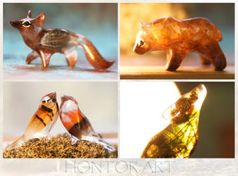 Crystal creatures