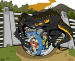 Indoraptor attack Jurassic Lovers