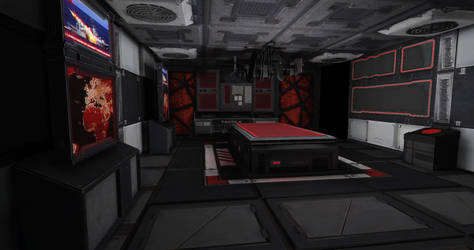 UDK MNC6 Scifi Scene WIP4 by Ryan Griffin