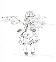 Inktober 12 - Shattered by Tiger-Lilyy