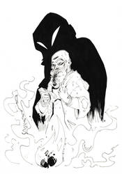 Inktober 15 - Mysterious