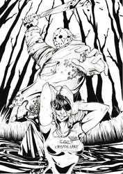 Friday the 13th - Black and White