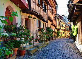 Eguisheim. by Romylyn