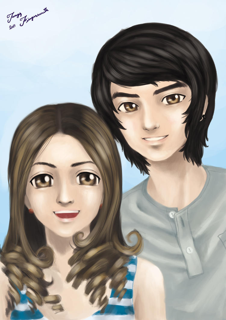 Kim and Pie Yes or No Fanart by cgtangYes Or No Movie Kim