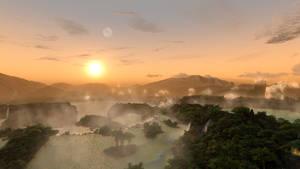 Fantasy map - Eorzea - 005