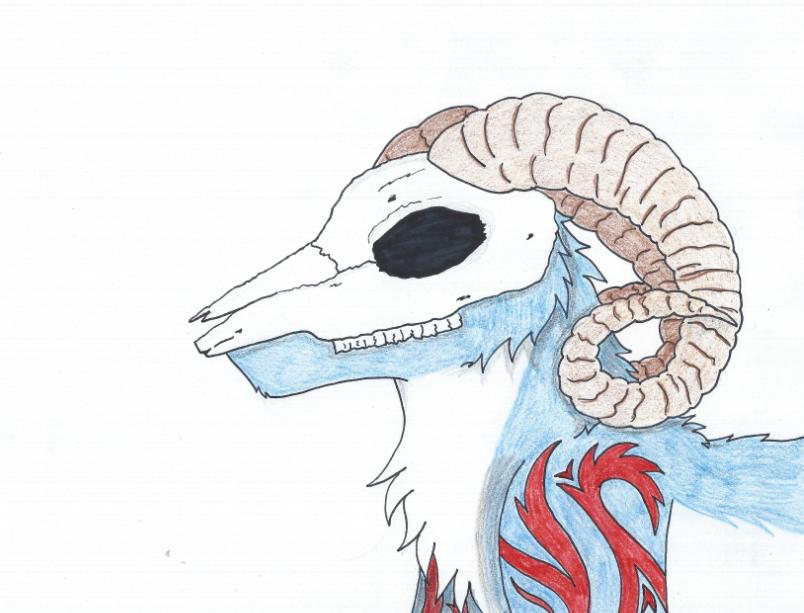 RQ  Ram Skull Mask by ...