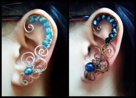 Commission Ear Cuffs by sodacrush
