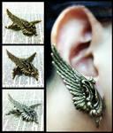 Wing Ear Cuffs