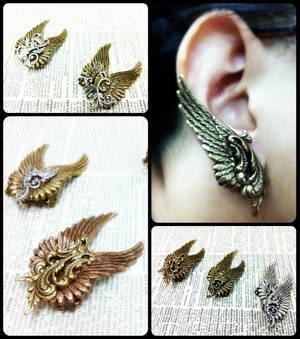 Wing Ear Cuffs 2