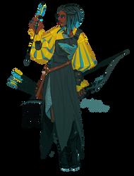 Seafoam Archer [closed]