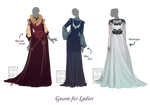 [closed] Outfit Adopt - Gowns for Ladies..