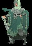 [closed] Adopt - Mint Swordswoman