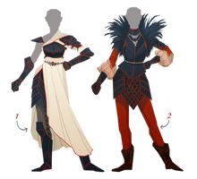 [closed] Adopt - Armor for Lady Types