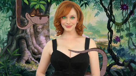 First Encounter: Christina Hendricks and Kaa