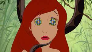 Ariel Succumbs (with spirals)