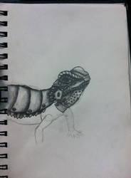 Metal Lizard by IFreakingLoveWolves