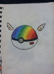 Rainbow Pokeball by IFreakingLoveWolves