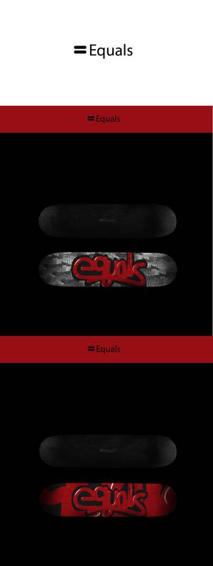 Equals Skate Branding
