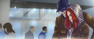 [Captain America + Black Widow] Undercover