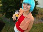 Dragonball Z: Bulma and Trunks